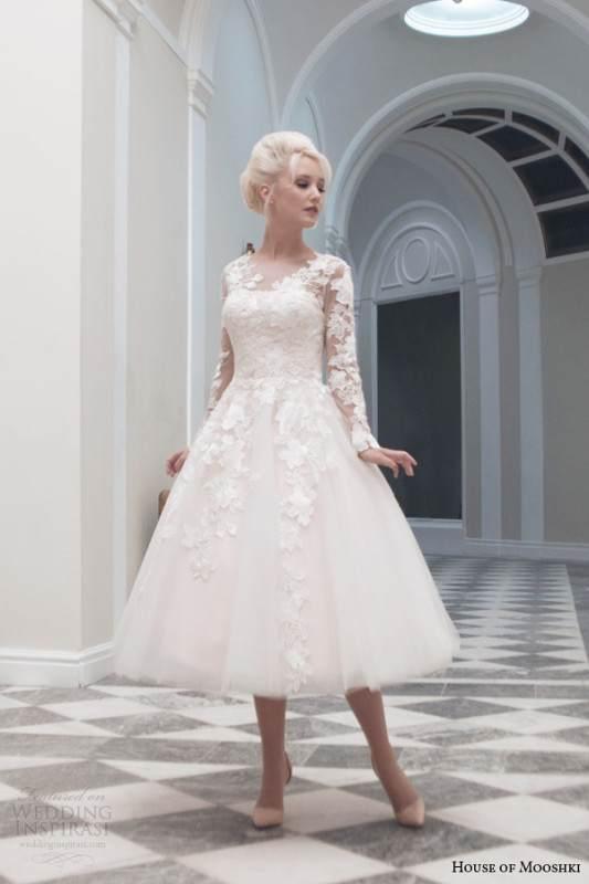 house-of-mooshki-tea-length-wedding-dress-fall-2014-charlotte-long-sleeve-gown