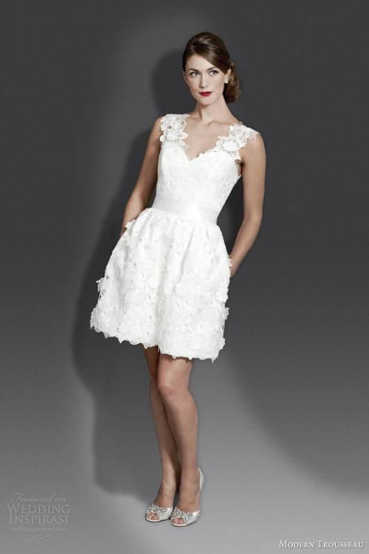 modern-trousseau-short-wedding-dress-fall-2014-bridal