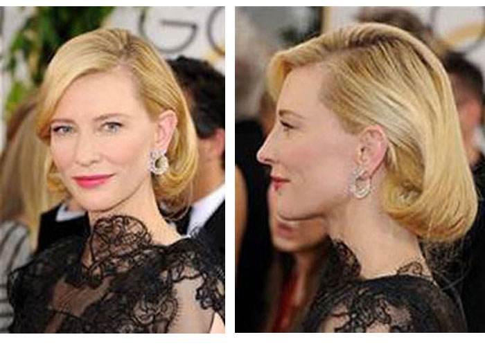 Klasyczne upięcie inspirowane Grace Kelly zaprezentowała Cate Blanchett. Źródło: hestyleeditrix.com
