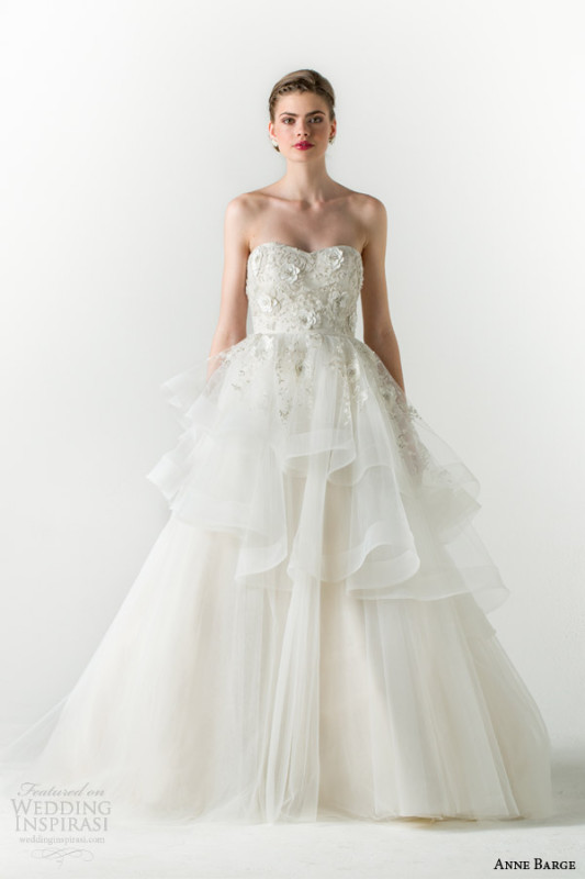anne-barge-spring-2015-charmed-strapless-ball-gown-wedding-dress-tiered-skirt