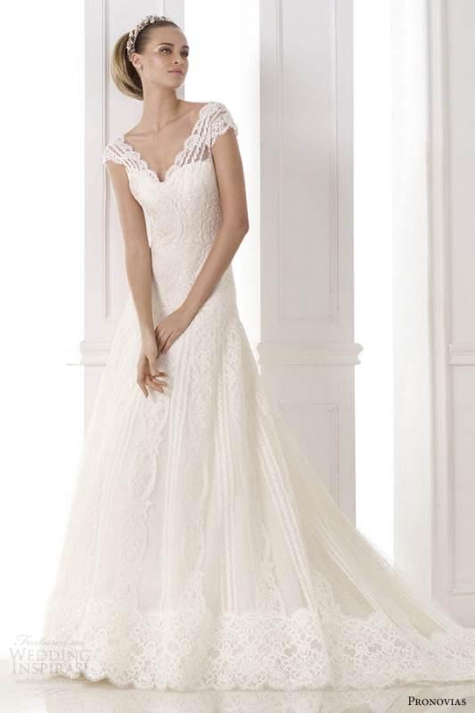 atelier-pronovias-2015-kande-v-neck-wedding-dress-cap-sleeves