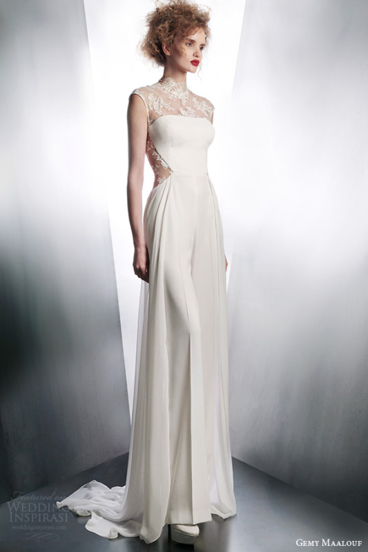 gemy-maalouf-2015-illusion-cap-sleeve-wedding-dress-style-4044