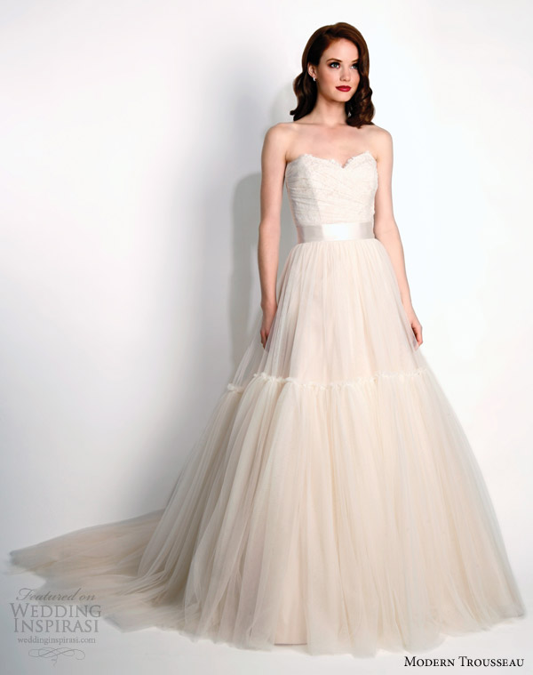 modern-trousseau-bridal-fall-2015-layla-strapless-blush-wedding-dress-train