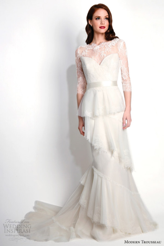 modern-trousseau-wedding-dresses-fall-2015-raven-couture-strapless-bridal-gown-with-matching-lace-jacket