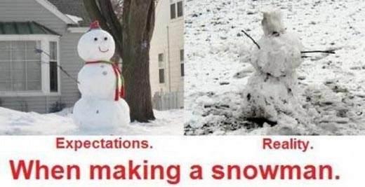 expectation-reality-snowman