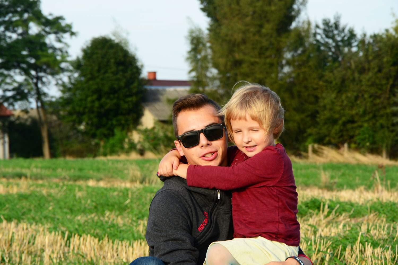 Maja z wujkiem
