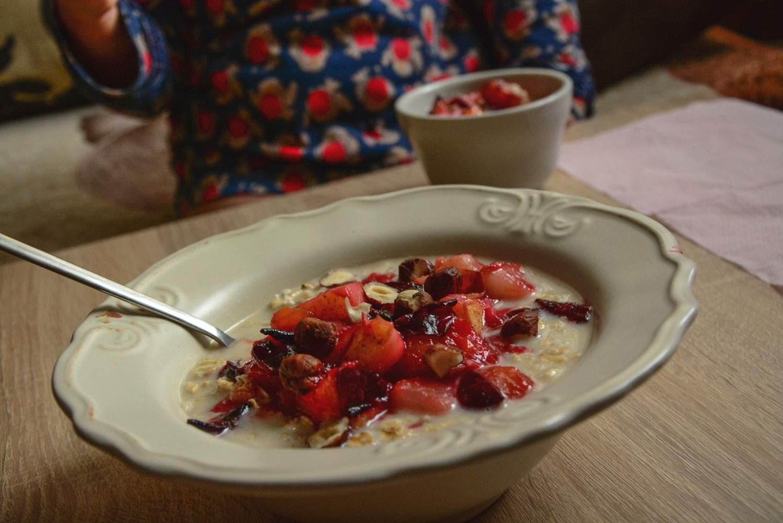 ciepłe śniadanie owsianka przepis na