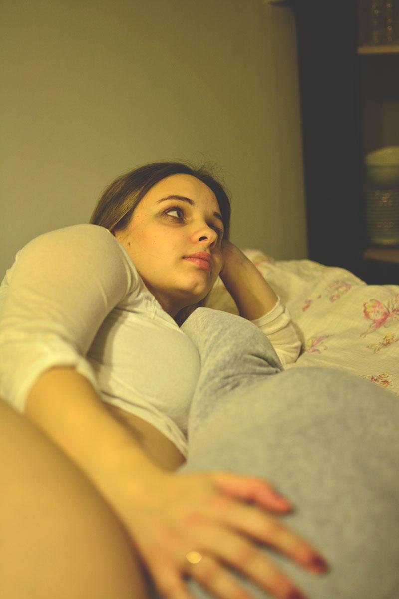 poudszka ciążowa