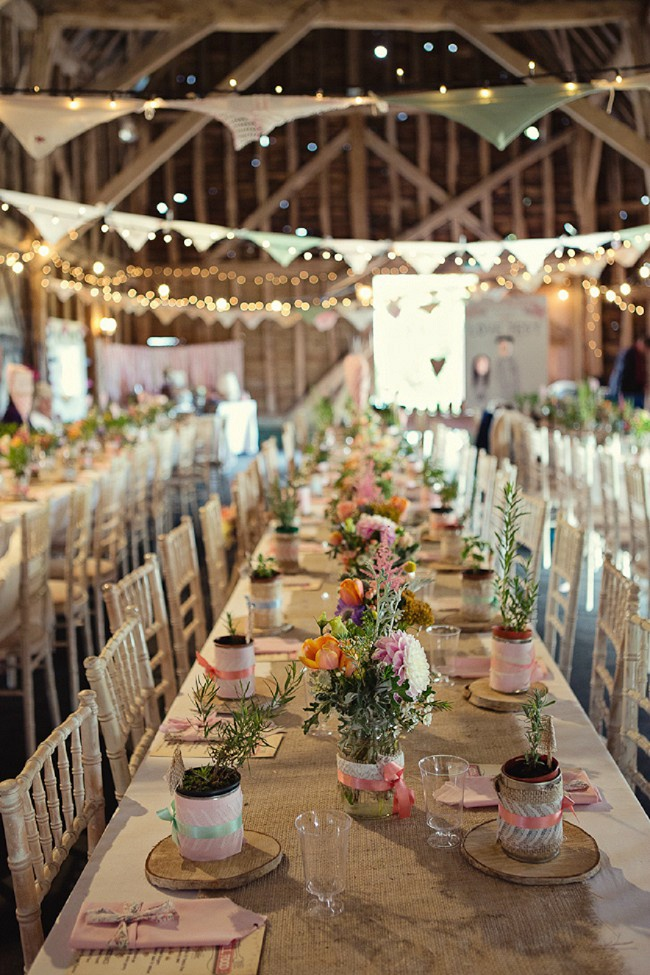 Rustic-Wedding-Reception-Inside-The-Barn