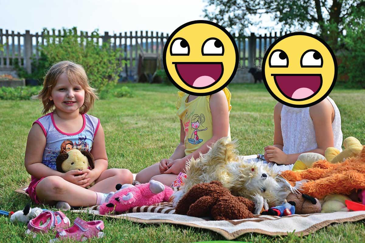 Dzieci takie szczęśliwe